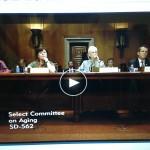 Kerry's Senate Testimony Featured on Encore.org
